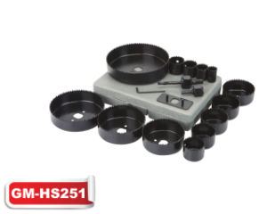 17PC Hole Saw Set (GM-HS251) pictures & photos