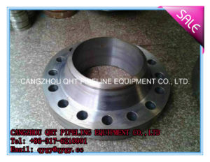 ANSI DIN Carbon Steel Welding Neck Forged Pipe Fittings Flange pictures & photos