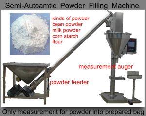 Bean Powder Filling Machine (auger measurement; semi-auto;) pictures & photos