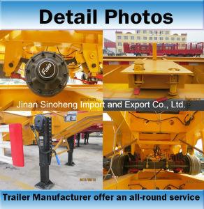 Flatbed Platform Container Semi Trailer pictures & photos
