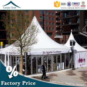 White Aluminum PVC Pagoda 80 Seaters Party Tent for Sports Channel pictures & photos