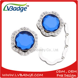 Round Shape Diamond Foldable Purse Bag Hanger for Gift pictures & photos