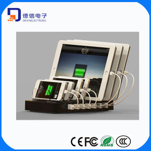 7 Ports USB Charging Station Quick Charge 2.0 Charger (LC-CR760) pictures & photos