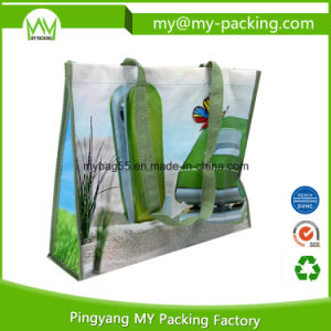Promotion Grocery Shopping Matt Laminated PP Nonwoven Bag pictures & photos