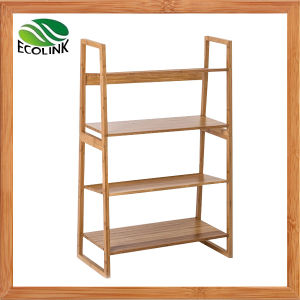 Bamboo Storage Shelf / Bamboo 4 Layers Rack pictures & photos