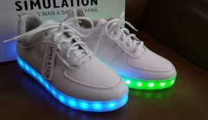 2016 New Fashion LED Shoes with USB Charge pictures & photos