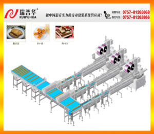 Wafer Biscuit Automatic Packing Feeding Line pictures & photos