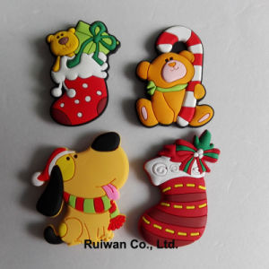 Wholesale Xmas Fridge Magnet for Christmas Ornament pictures & photos