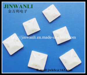 Competitive Price Self Adhesive Cable Tie Mounts 40*40mm pictures & photos