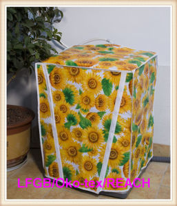 PVC Washing Machine Cover with Nonwoven Backing (TJ0072) pictures & photos