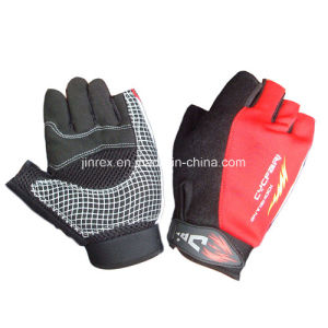 Sanwich Gym Half Finger Cycling Padding Bicycle Bike Sports Glove pictures & photos