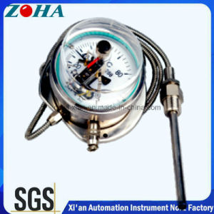 All Stainless Steel Capillary Pressure Thermometer with Electric Contact pictures & photos