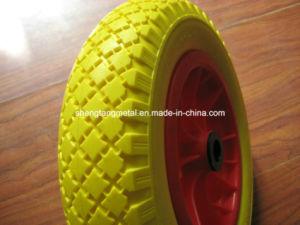Polyurethane Foam Wheel 3.50-8 pictures & photos