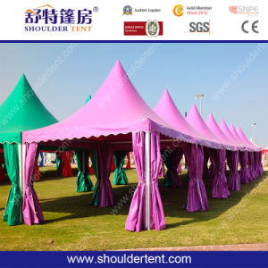 5X5m Beautiful Gazebo Tent Pagoda Tent pictures & photos