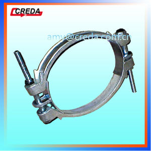 Double Bolt Hose Clamps Industrial Hose Coupling