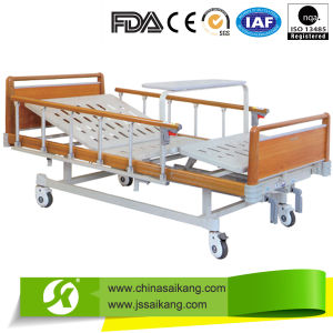 Useful 2 Cranks Economical Manual Hospital Bed with 2 Functions pictures & photos