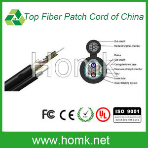 Self-Support Stranded Outdoor Fiber Cable (GYTC8S) pictures & photos