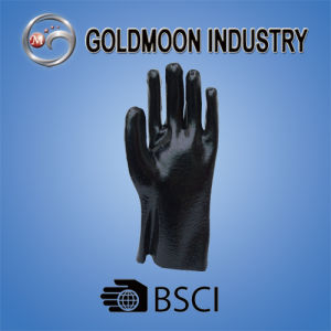 Black PVC Safety Work Glove (27) pictures & photos