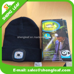 High Quality Fashionable 100% acrylic LED Knitted Hat (SLF-LH001) pictures & photos