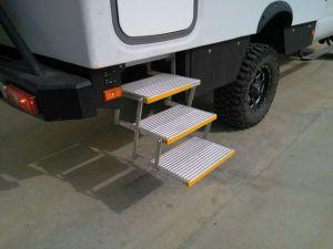 Aluminium Electric Folding Aluminum Ladders with CE (ES-F-T) pictures & photos