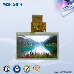 Rg-T350mpno-01p 3.5 Inch TFT LCD Screen Portable GPS Display with Touch Screen pictures & photos