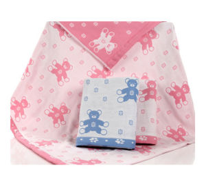 Factory Customized Organic Muslin Baby Blanket pictures & photos