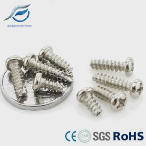 Phillips Pan Head Thread Cutting Screws pictures & photos