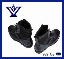 Full Leather Lightweight Military Combat Boots in Black (SYSG-292) pictures & photos