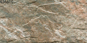 Ceramic Rustic Exterior Wall Tile for Stone Cladding (300X600mm)
