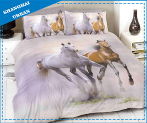 3 PCS Cotton Bedding Bed Sheet (set) pictures & photos