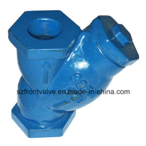 Ductile Iron Threaded Y-Strainer pictures & photos