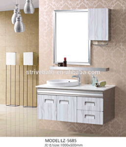 Hotel Waterproof Stainless Steel Bathroom Furniture Mirrored Cabinet pictures & photos