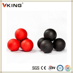 Customized Engraved China Made Silicone Rubber Lacrosse Ball