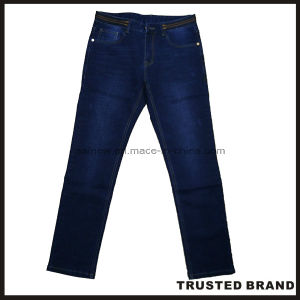 China Garment Hot Selling Basic Five Pocket Jeans Pants (D6082AS)