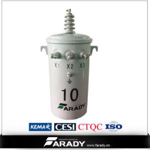 13.2kv 7.62kv 75kVA Oil Type of Pole Mounted Distribution Transformer pictures & photos