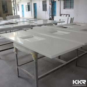 2017 Custom Prefabricated 52′′ Stone Resin Countertop pictures & photos