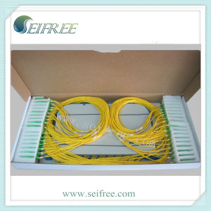 1X16 Pallet Type Fiber Optic PLC Splitter (FTTH, CATV) pictures & photos