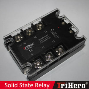 100A DC/AC SSR Solid State Relay 3-Phase pictures & photos