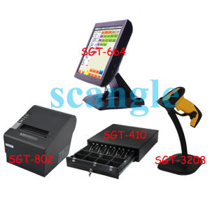"Hot 15"" All in One Touch Screen POS Terminal pictures & photos"