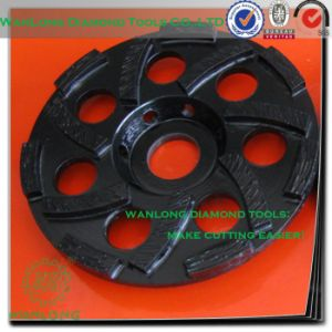 "6"" Diamond Grinding Wheel Cup Type for Stone Grinding, Stone Grinding Wheel pictures & photos"