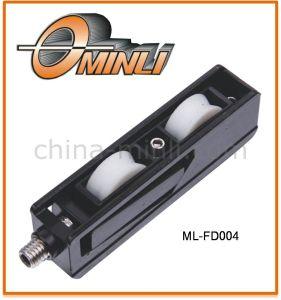 Zinc Bracket Double Plastic Pulley (ML-FD004) pictures & photos