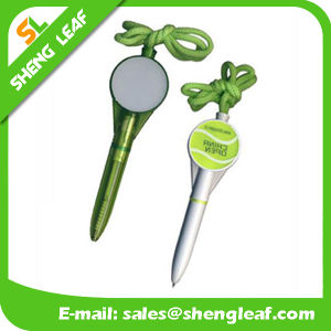 Useful Logo Printed on The Lanyard Ball Pen (SLF-LP006) pictures & photos
