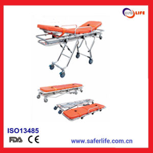 SL-D3 Saferlife Aluminum Alloy Materials Hospital Protable Ambulance Stretcher for Sale pictures & photos