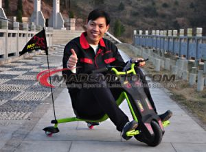 Battery Powered Electric Scooter with MP3 and Bluetooth Speaker pictures & photos