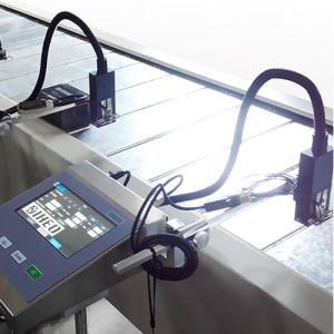 Automatic Industrial Continuous Inkjet Code Printer