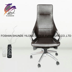 Polishing PU Swivel Chair Book Room Chair Leather Chair pictures & photos
