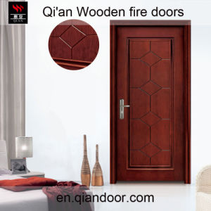 Black Walnut Insulation Door Smoke-Proof Door pictures & photos