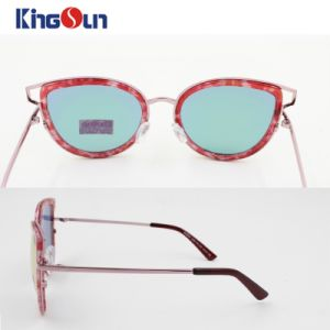 Fashion Sunglasses for Female or Lady Plastic Rim Ks1155 pictures & photos