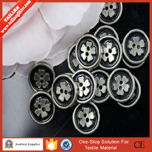 2016 Tailian Fantastic 2holes Flatback Plastic Button pictures & photos