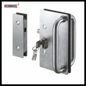 Stainless Steel Glass Sliding Door Lock (HR1122/HR1120) pictures & photos